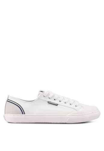 Superdry white Low Pro Retro Sneaker 633E0SHBE4D9E9GS_1