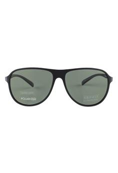 9c3c168ed62 ESPRIT ESPRIT Aviator Black Sunglasses ET17922 ES374AC49GAWMY 1