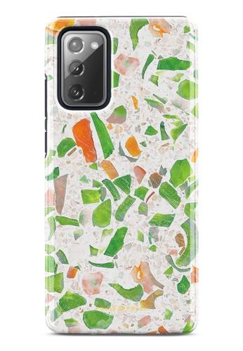 Polar Polar green Terrazzo Green Dual-Layer Tough Case Glossy For Samsung Galaxy Note20 5G C6DCBACB8F3F74GS_1