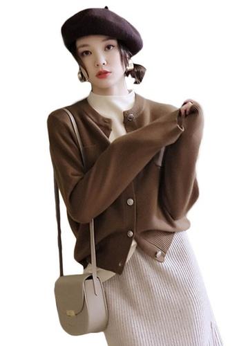 Sunnydaysweety beige Woole Knitted Coat A102215KI 8FE37AA5EF2FBDGS_1