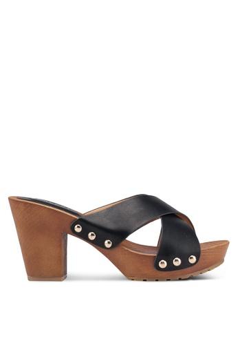Noveni 黑色 Casual Platform Heels 04211SHAFCE64DGS_1