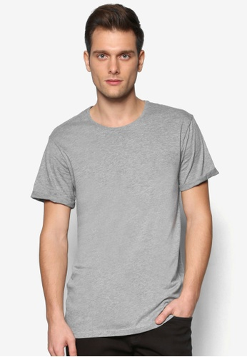 Cotton On grey The Other Turn Up Shirt CO372AA61RCCMY_1