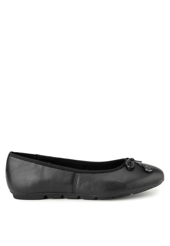 Hush Puppies black Hush Puppies Abby Bow Ballet In Black D32EDSHD86E4F1GS_1