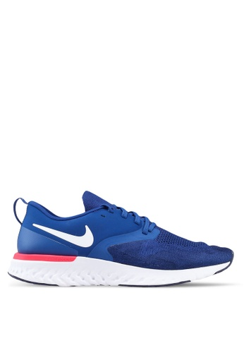 Nike blue Nike Odyssey React Flyknit 2 Shoes BD011SHC389896GS_1