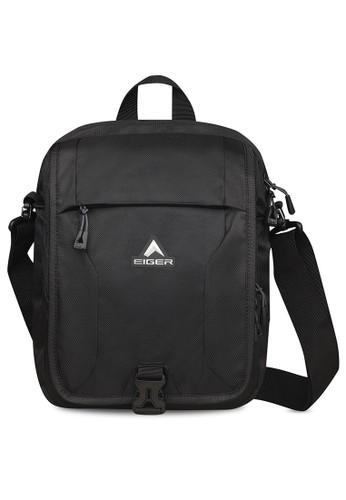 Eiger black Posseidon Shoulder Bag 6L AD6D1AC2D25C94GS_1