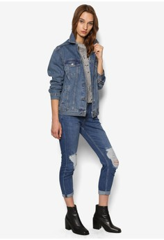 Buy Denim Jackets For Women Online | ZALORA Singapore