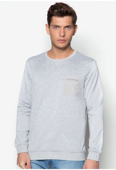 WT - French Terry Sweatshirt With Pocket