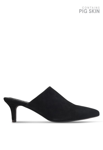 Vero Moda black OLIVIA LEATHER MULEs 72C0ASH966C6A0GS_1
