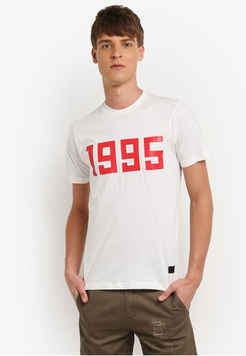 Flesh IMP white Since 1995 Printed T-Shirt FL064AA0RNA3MY_1
