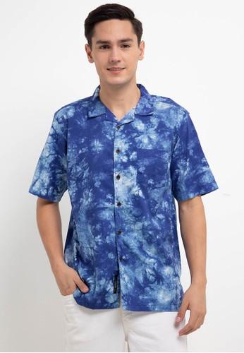 Salt n Pepper blue S/S-Men Shirt 78947AA2018951GS_1