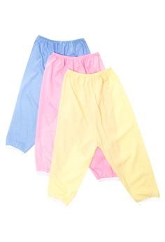 Plain Colored Pajama Set of 6