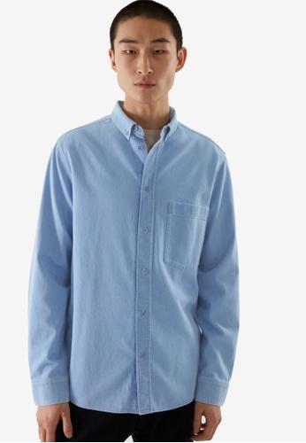 Cos blue Denim Shirt B06ADAA30EC311GS_1