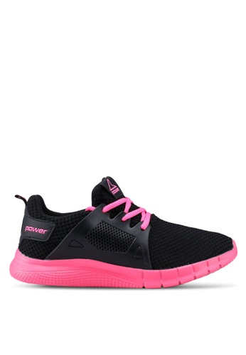 12d7100b930 Power black and pink Power Running Shoes 04482SH82440E0GS 1