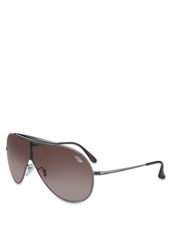 Ray-Ban 灰色 RB3597 Sunglasses 865C1GL419AD73GS_1
