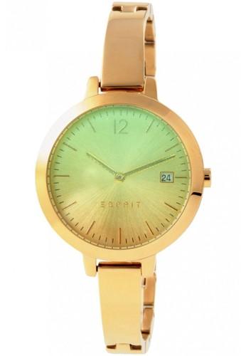 ESPRIT green Jam tangan Esprit Cewek - Gold Hijau - Stainless Steel -  ES107242007 ES347AC43DYEID 1 46442f087c