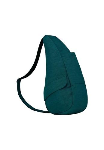 Healthy Back Bag green Healthy Back Bag Textured Nylon Lagoon - 6L 75E47AC7157143GS_1