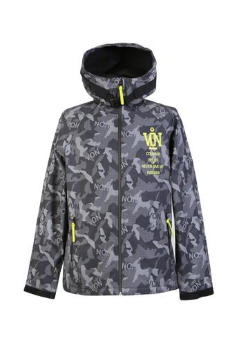 BSX black BSX All overprint jacket (Online exclusive) 0407066209 C60BFAA1464BBEGS_1