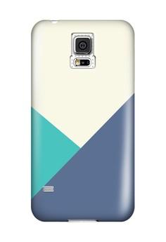 Triangular All Glossy Hard Case for Samsung Galaxy S5