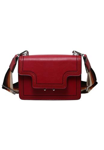 Lara red Women's Top Flap Shoulder Bag 6D32AACE58E94EGS_1