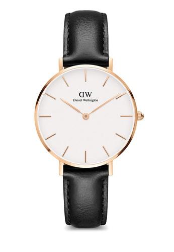 Daniel Wellington gold Petite Sheffield 32mm Rose Gold Watch 7B14CAC38BB68CGS_1