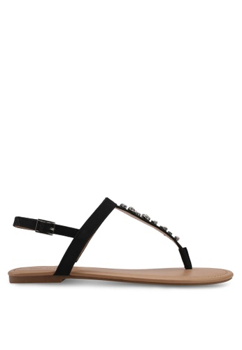 Call It Spring black Gwalind Sandals FEC8FSH844A3BAGS_1