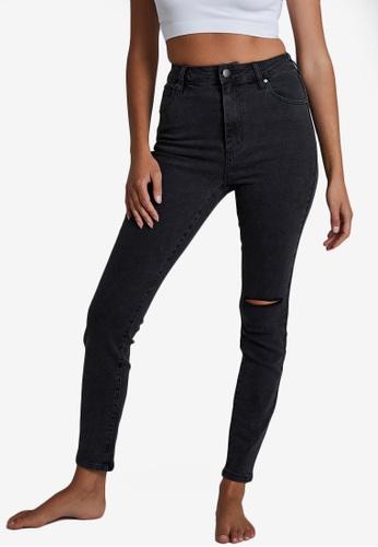 Cotton On black High Rise Skinny Jean 15A7EAA493FEFAGS_1