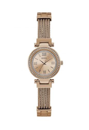 Guess Watch gold Guess Mini Soho Rose Gold Stainless Steel Watch GU514AC2UZUSHK_1
