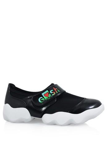 Bolzano-348 Casual Sneakers - Black - GOSH 1e6dadfc3b