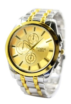 Rosra Garry-G Unisex Stainless Steel Strap Watch