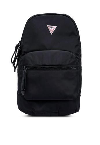 GUESS black Originals Sling Backpack AD4EBACDEE9C53GS_1