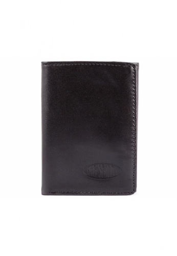 Big Skinny Wallets black Leather Tri-fold Wallet 2D8FAACBCDFD3AGS_1
