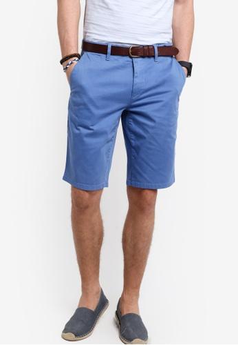 Boss Orange blue Schino Slim Shorts - Boss Casual BO434AA89MGWMY_1