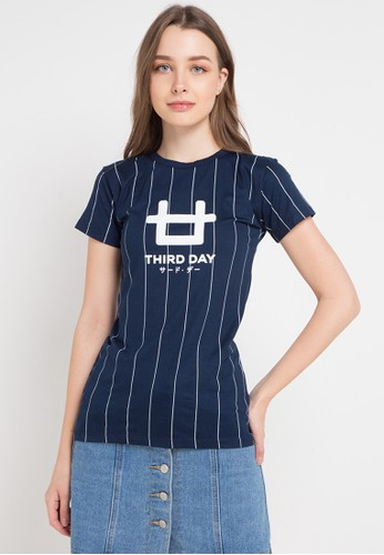 Third Day multi and navy S/S Lds Ver Logo 0378EAA86D0550GS_1