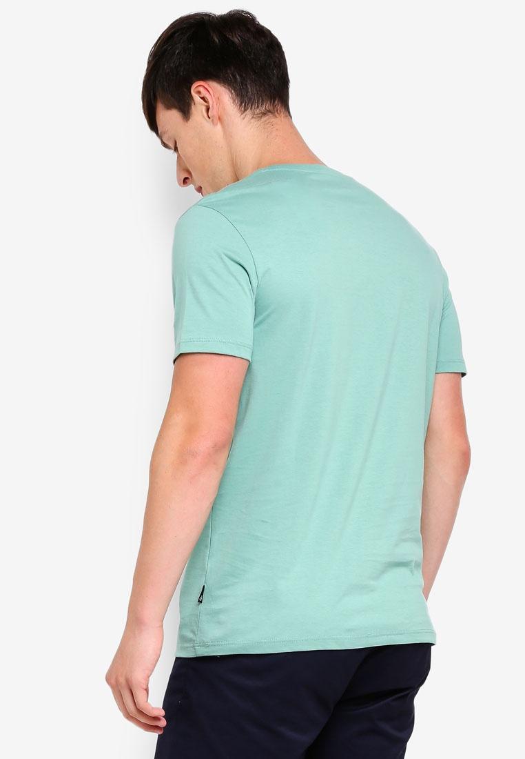 Crew Green T Dark Shirt Menswear Neck Green London Burton Apple Fqd5fq