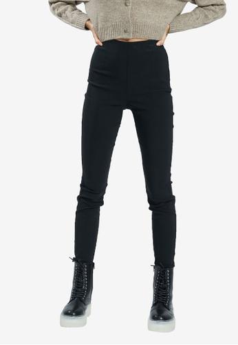 PIMKIE black Plain Skinny Pants 2727EAA6A09A2AGS_1