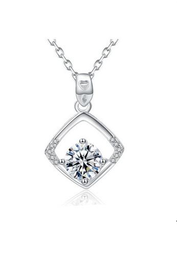 LYCKA silver LPP88060 S925 Silver Necklace 53FA2AC59A3EAFGS_1