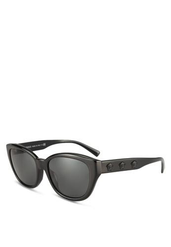 Versace black Versace VE4343A Sunglasses 6A6F2GLFDF14CDGS_1