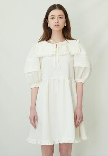TAV [Korean Designer Brand] Jubilee Dress - White D0409AA0B890CCGS_1