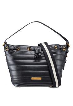 ESPRIT black Ribbed Handbag 8DF4BACED5607BGS 1 b6384b8f67561