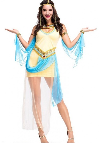 Kats Clothing yellow Sexy Yellow Cleopatra Costume 41A24AACD52FF1GS_1