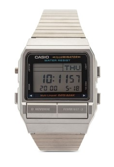 Image of Casio Men's Silver Stainless-Steel Quartz Watch