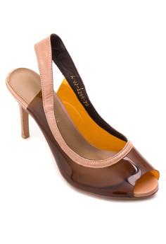 Peeptoe Sling Heels