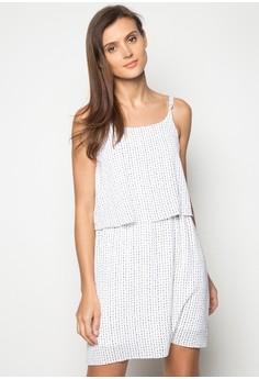 Camisole Twofer Slip Dress