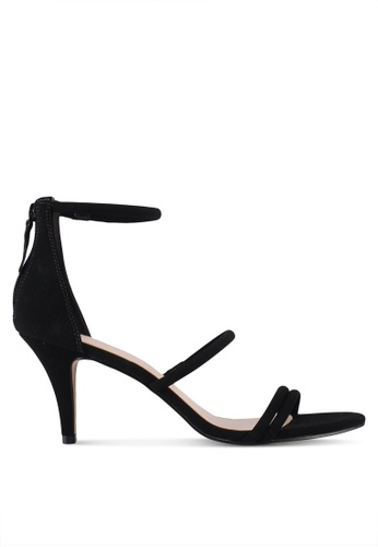 ALDO black Prong Heeled Sandals 901D8SH59F6DADGS_1