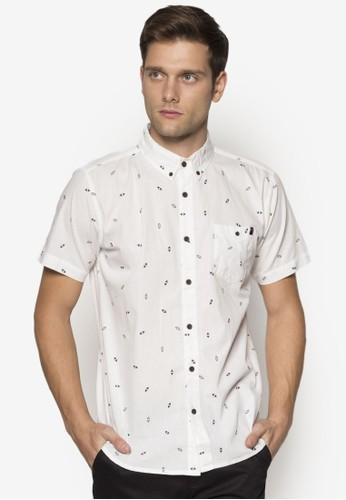 印花棉質短袖esprit 內衣襯衫, 服飾, 襯衫