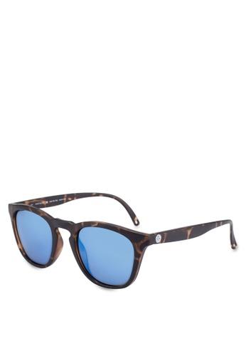Sunski 藍色 方框太陽眼鏡 69550GL6E5F4A9GS_1