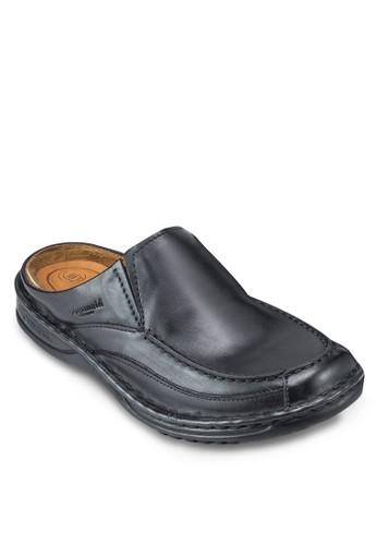 GRANGER 皮革懶人拖鞋, 鞋esprit台灣outlet, 鞋