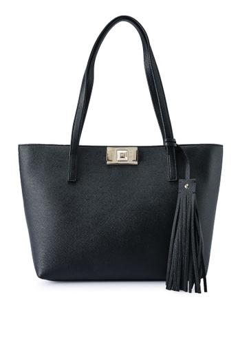 Furla black Furla Mimi' M Tote Bag B9938AC4C2E68BGS_1