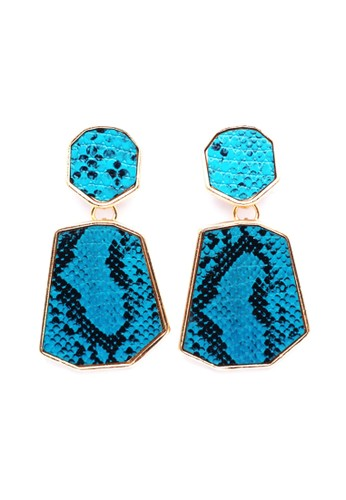 Istana Accessories blue Anting Molly Etnik Fashion Earrings 8E529AC1A66C1DGS_1