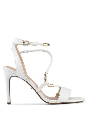 Carvela KG white White Strappy Heels 80D9ESH838E13EGS_1